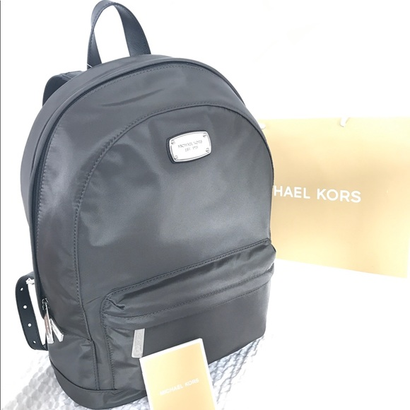 bb600a5c52b5 Michael Kors Bags | New Authentic Mk Jet Set Large Graphite Backpack ...